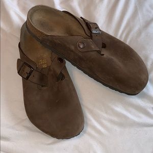 Men's Birkenstock clogs